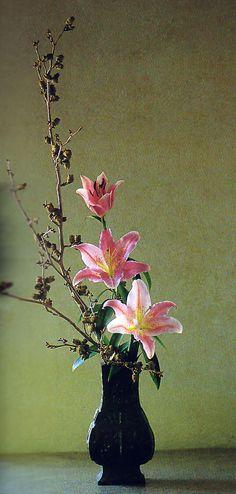 arreglo floral japones Ikebana