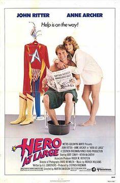 Hero at Large (1980)  Watch the Trailer!/ John Ritter, Anne Archer, Bert Convy Movie/