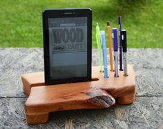 wooden desk ipad holder - Google Search