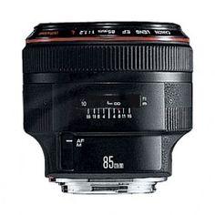 Canon EF 85mm f/1.2L II USM fixed focal length lens (Canon p/n 1056B005AA)