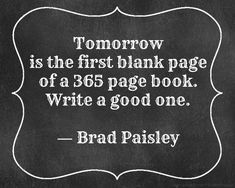 A new book with lota of new chapters. Going to make big changes in 2015 a new life an new me