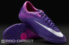07496e66da21 Nike Mercurial Victory II IC - Purple Silver · Womens Soccer CleatsSoccer  ShoesIndoor ...