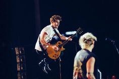 Luke and Michael onstage Mountain View