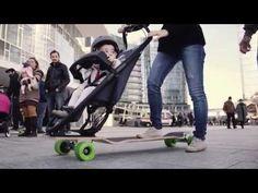 Longboardstroller, un modo divertente per girare la città http://www.design-miss.com/longboardstroller-un-modo-divertente-per-girare-la-citta/ Un #passeggino con skateboard integrato per girare la città in lungo e in largo!