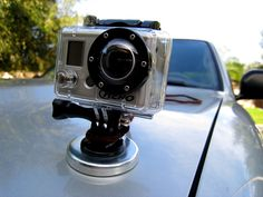 How to Make a Magnet Mount for your GoPro Hero