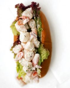 Shrimp Roll - celebrate national shrimp day with this tasty sandwich