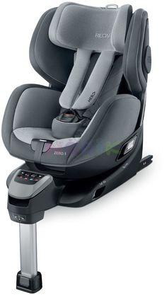 Obrotowe samochodowe foteliki dla niemowląt szary