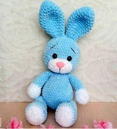 Crochet Bunny Pattern, Crochet Amigurumi Free Patterns, Christmas Crochet Patterns, Holiday Crochet, Crochet Animal Patterns, Crochet Patterns Amigurumi, Amigurumi Doll, Crochet Cow, Crochet Baby Toys