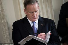 Spicer notebooks could be treasure trove for Mueller probe - https://buzznews.co.uk/spicer-notebooks-could-be-treasure-trove-for-mueller-probe -