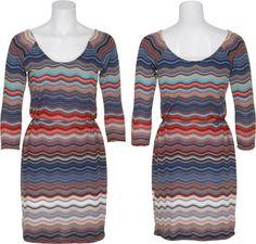 15DOLLARSTORE.COM - VELVET TORCH Multi-Colored Print Dress