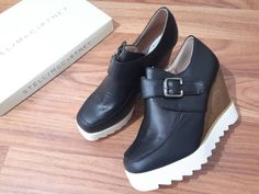 Sneaker wedges stella belt import