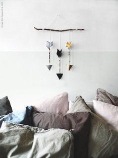 DIY Deko aus Stöcken