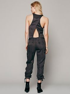 Free People Roaring Rayon Jumpsuit at Free People Clothing Boutique