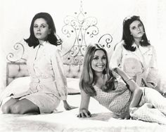 Barbara Parkins, Sharon Tate and Patty Duke in Valley of the Dolls (1967)  1 000×800 пикс
