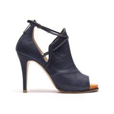 Women's Luxurious Handmade Shoes Sexy Strappy by KJHeelshop