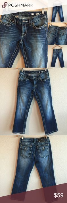 MISS ME 💗 Crop Jeans, Size 27 Excellent condition! 💗 (A1X202016PC) Miss Me Jeans Ankle & Cropped
