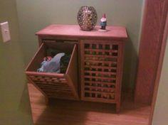 Laundry Hamper built in dresser: