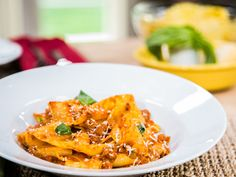 Home & Family - Recipes - Cristina Cooks Heart Healthy Pappardelle with Turkey Bolognese | Hallmark Channel