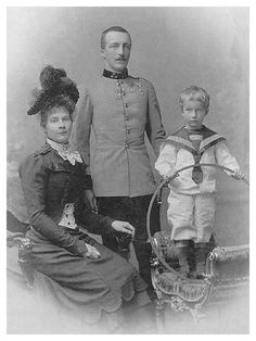 Auguste of Bavaria, Archduke Joseph August of Austria, and (probably) Josef Franz.