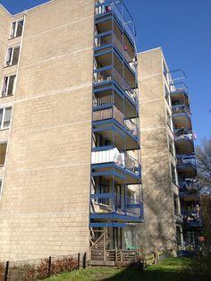 18 balkons Cayennedreef - Utrecht - April t/m Juni 2012