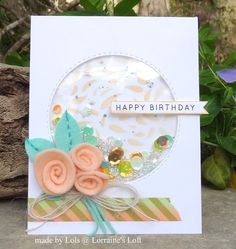 Lorraine's Loft: Simon Says Stamp 'Swirl Flowers and Leaves'