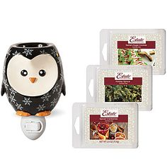Penguin Accent Wax Warmer Gift Set