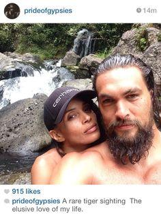 Jason Momoa & Lisa bonnet <3