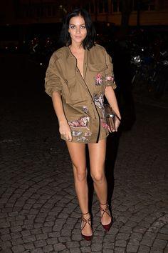 Leigh Lezark in Valentino - Top looks. Sobre Kendall, Gigi y Miranda Kerr © Gtres Online/ Cordon Press #SS16 #PFW
