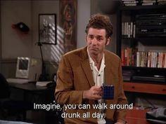 Sometimes I wish, Kramer.
