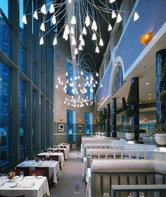 Pretty :) I heard the food is good, too. On the list... Best Italian Restaurants in the U.S.: Spiaggia