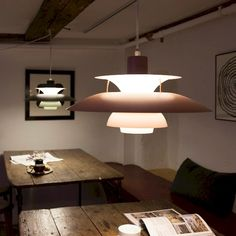 Light is important for the Danish people to create a 'hygge' atmosphere, the iconic design lamp PH5 from Poul Henningsen
