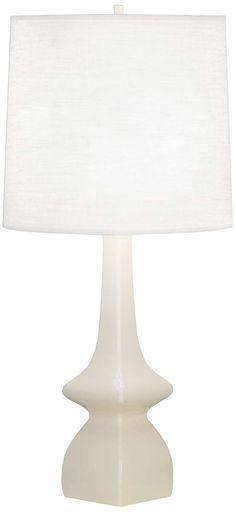 Jasmine Bone Ceramic Table Lamp