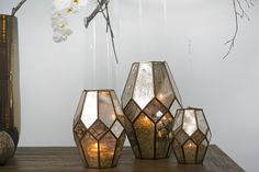 Accent Decor - Audrey Lantern  possible lanterns to add to round table groupings