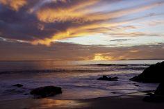 Thousand Steps Laguna Beach CA Sunset