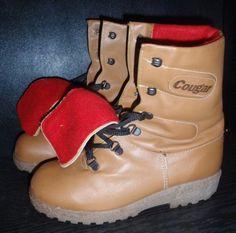 Image result for vintage cougar boots