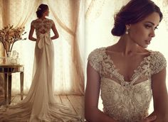 AMORE (Beauty + Fashion): WEDDING BELL WEDNESDAY ❣ - Anna Campbell 'Gossamer' Bridal Collection [Part 2]
