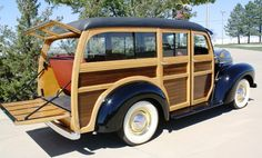 1948 International KB-1 Woody Station Wagon - Happy Days Dream Cars..Re-pin brought to you by agents of #Carinsurance at #HouseofInsurance in Eugene, Oregon