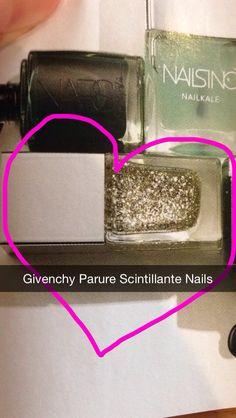 Givenchy nail varnish