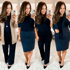 Business Professional Outfits, Professional Wardrobe, Professional Dresses, Business Casual Outfits, Work Wardrobe, Business Attire, Corporate Attire, Business Formal, Wardrobe Basics