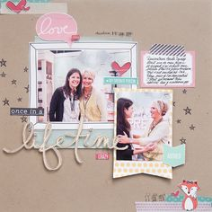 So That's Hybrid? 8 Ideas for Using Digital Scrapbooking Products On Paper Pages | Marie-Pierre Capistran | Get It Scrapped