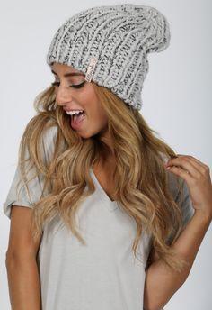 b4da0a4da7f Chunky Beanie - Kittenish Collection Crochet Beanie Hat