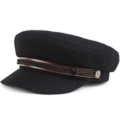 Brixton Fiddler Hat (Black Melton) $33.95