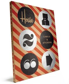 House Industries' Chronicle Books, Labels and Stickers...want!