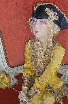 French Boudoir Doll - Casanova  - 1920