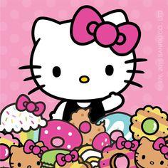 Hello Kitty & some sweet treats -- joie de vivre!! ☆〜(ゝ。∂)