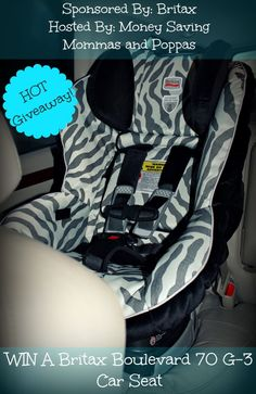 Britax Carseat Giveaway - Ends March 15th! Open to USA & Canada