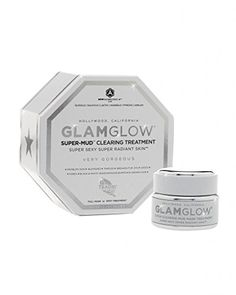 ::This mask was created to fight all skin concerns - breakouts, discoloration, black and white heads, razor bumps, ingrown hairs, etc. GLAMGLOW Super-MudTM Clearing Treatment::