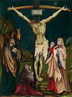 """""""A Pequena Crucificação"""". by Matthias Gothart Grünewald)."""