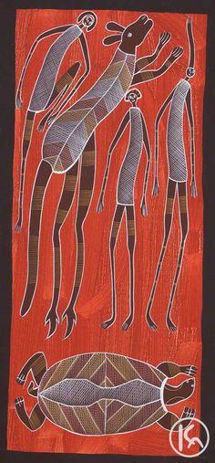 """Animal & Mimi Spirits"" by Edward Blitner $2,200  http://www.aboriginalartstore.com.au/artists/edward-blitner/animal-mimi-spirits-(13042490)/"