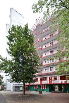Chorweiler social housing, Cologne. Gottfried Böhm.